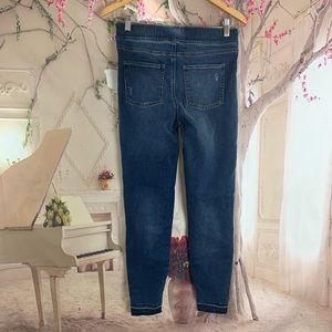 Anthropologie Pants - Anthropologie Spanx Distressed Denim Legging